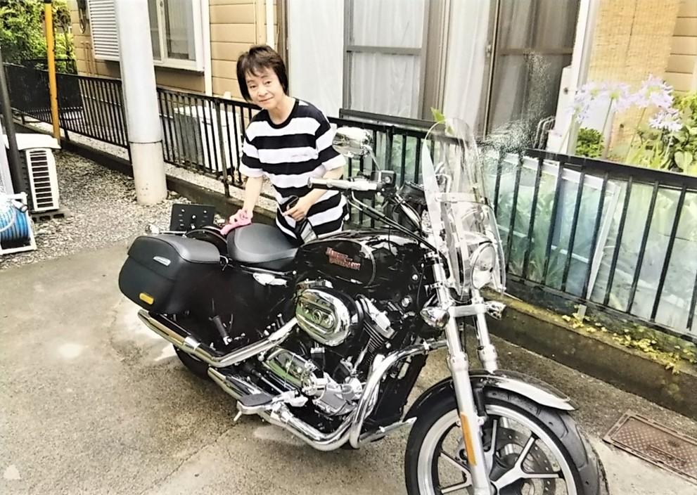 😄スマイルシェア・バイクの手入れ🏍🏍
